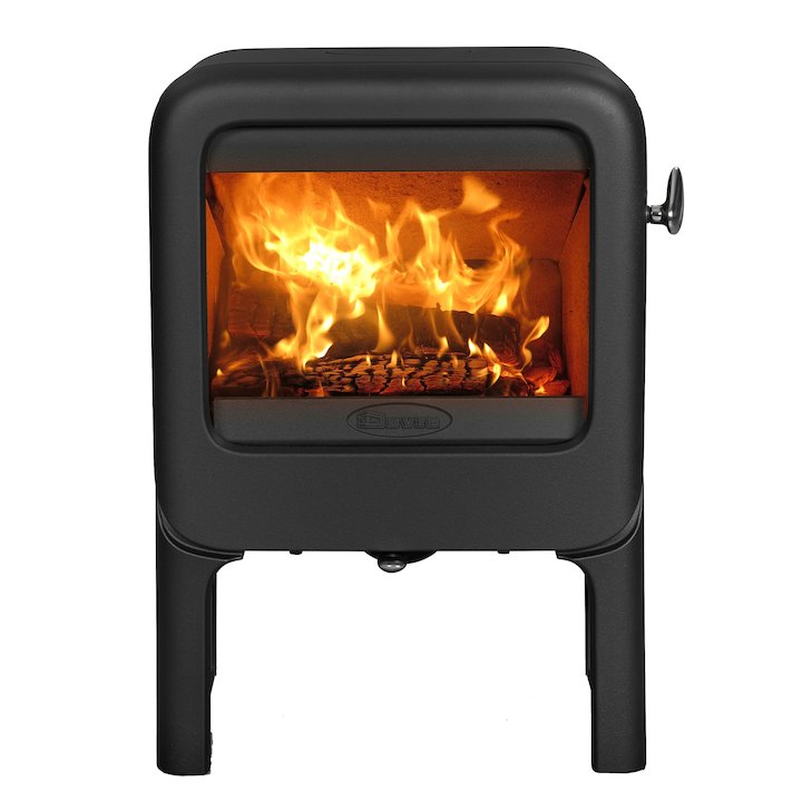 Dovre Rock 350 Tablet Wood Stove - Black