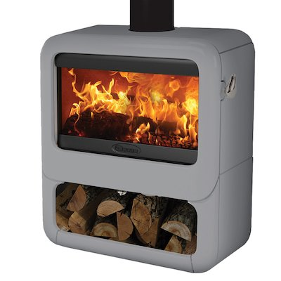 Dovre Rock 500 Logstore Wood Stove