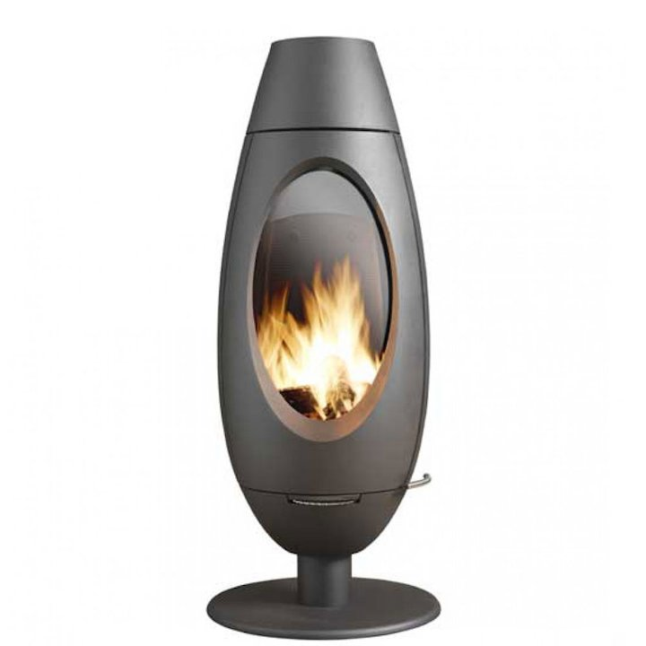 Invicta Ove Wood Stove - Anthracite