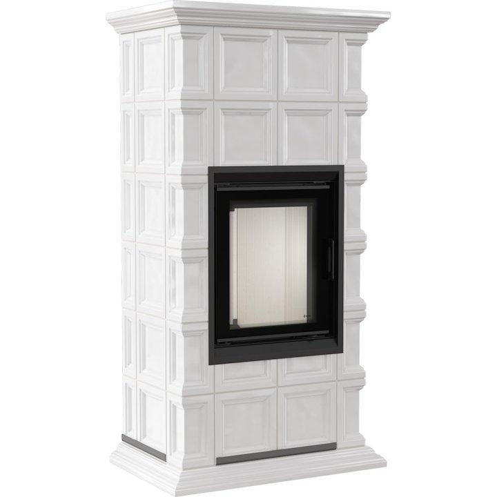 Kratki Nadia 8 Wood Stove White Milano Design - White