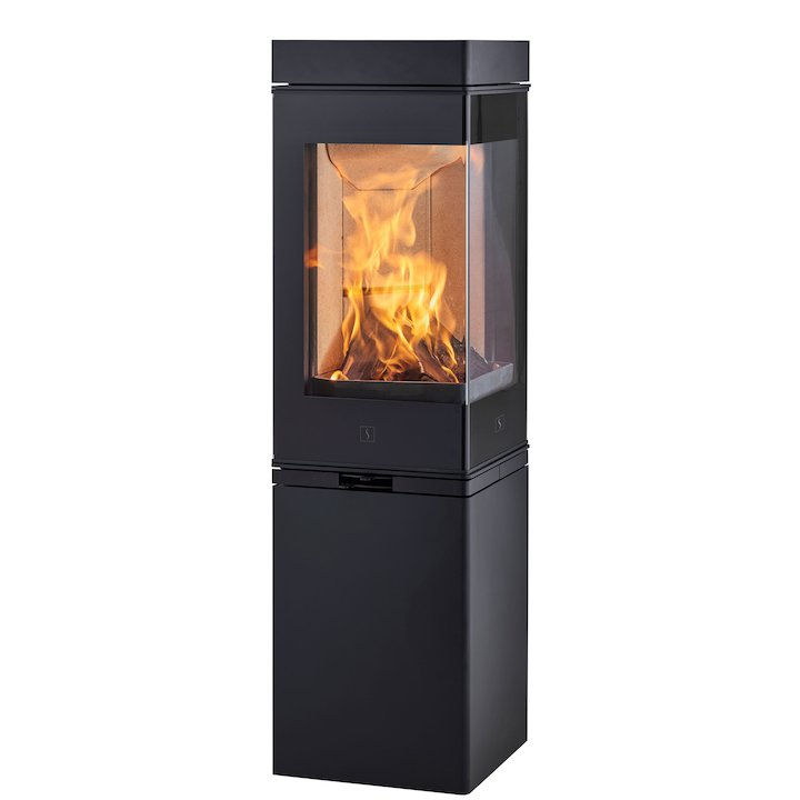 Scan 80 Wood Stove - Black