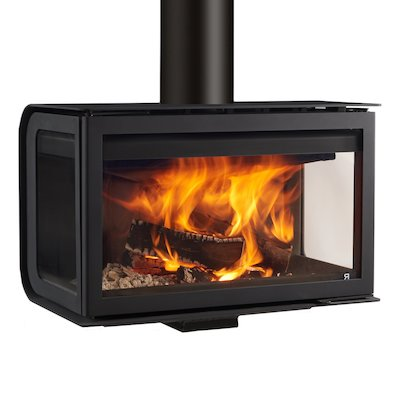 Rocal City Wall Mounted Wood Stove