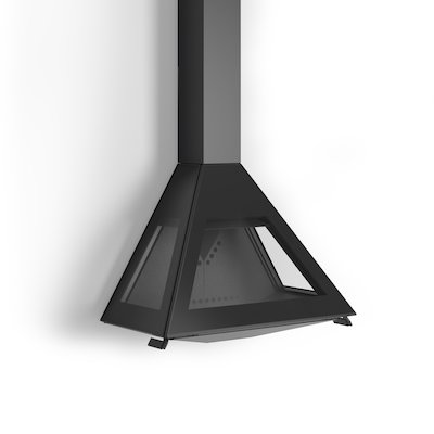 Rocal D10 Wall Mounted Wood Stove