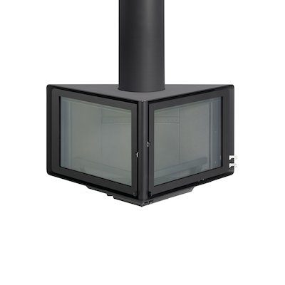 Rocal Vertex Wall Mounted Wood Stove