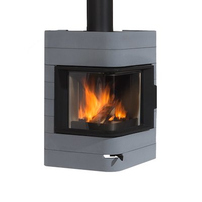 Wanders Plantane Wall Mounted Wood Stove