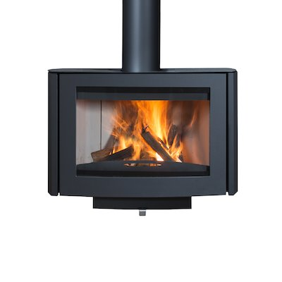Wanders Ruby Wall Mounted Wood Stove