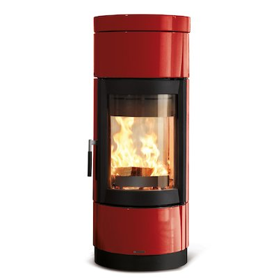 La Nordica Fortuna Bifacciale Double Sided Wood Stove