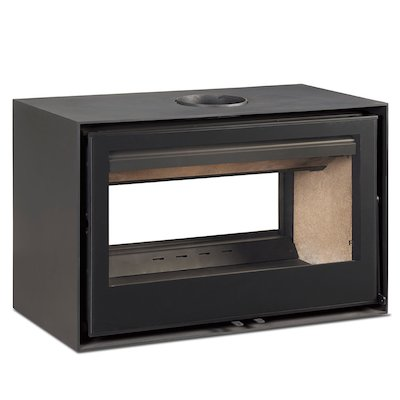 Rocal Habit 100 DC Double Sided Wood Stove