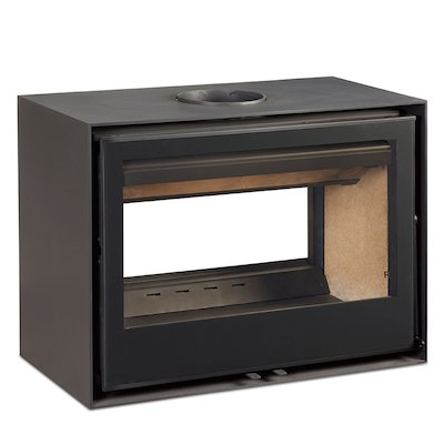 Rocal Habit 80 DC Double Sided Wood Stove