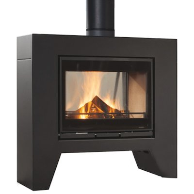 Wanders Jules Double Sided Wood Stove
