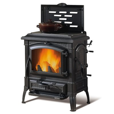 La Nordica Isetta Evo Cook Top Wood Stove