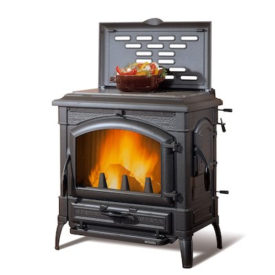 La Nordica Isotta Evo Cook Top Wood Stove