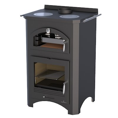Bronpi Monza Wood Cooking Stove - With Oven