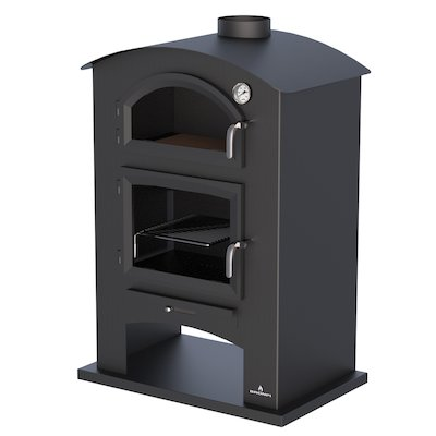 Bronpi Sintra Wood Stove - With Oven