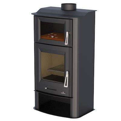 Bronpi Tudela Wood Stove - With Oven
