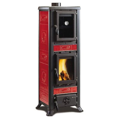 La Nordica Fulvia Forno Wood Cooking Stove - With Oven
