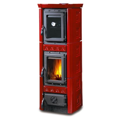 La Nordica Gaia Forno Wood Cooking Stove - With Oven