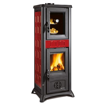 La Nordica Gemma Forno Wood Cooking Stove - With Oven