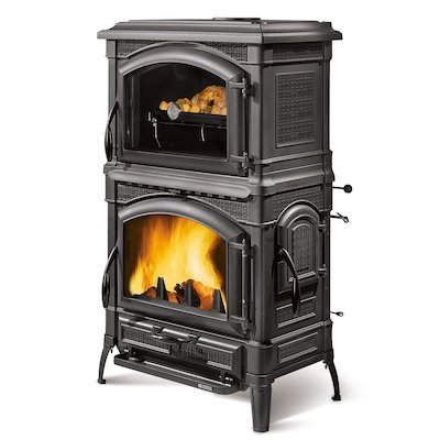 La Nordica Isotta Evo Forno Wood Cooking Stove - Oven