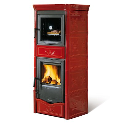 La Nordica Nicoletta Forno Evo Wood Cooking Stove - With Oven