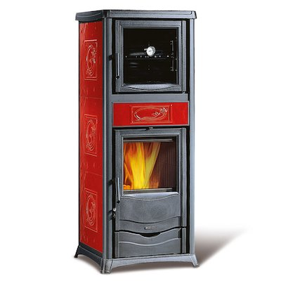 La Nordica Rossellla Plus Evo Forno Wood Cooking Stove - With Oven