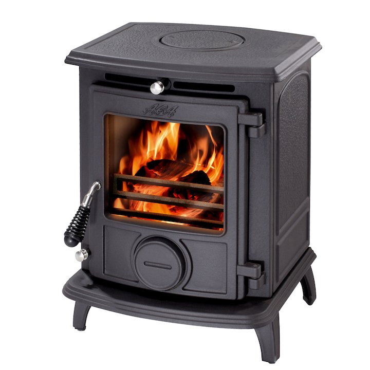 AGA Little Wenlock Classic Multifuel Stove - Black