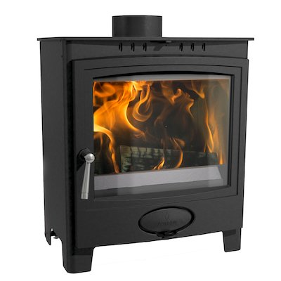 Arada Ecoburn Plus 5 Wide Multifuel Stove