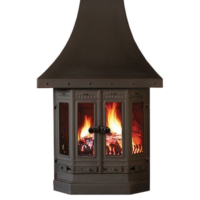 Dovre 2000 Multifuel Fireplace