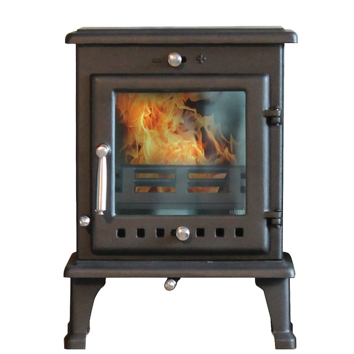 Ekol Crystal 5 Multifuel Stove - Black