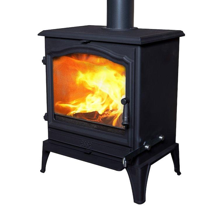 ESSE 700 Vista Multifuel Stove - Black