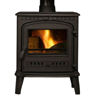 Mazona Orlando Medium Multifuel Stove Black Single Door