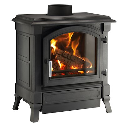 Nestor Martin Harmony 23 Multifuel Stove Black Satin Nickel Handle