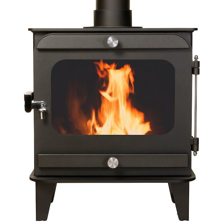 Firestorm 10 Multifuel Stove Anthracite Colour Matched Trim - Anthracite