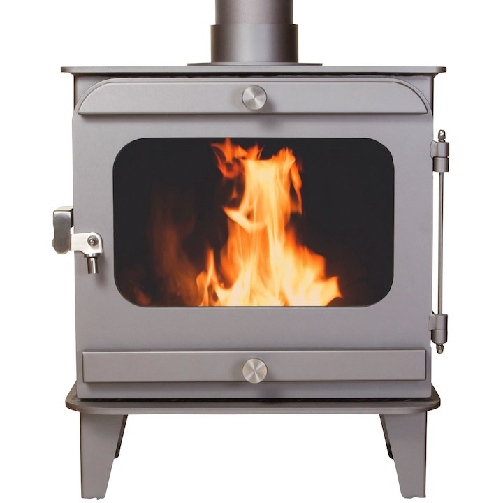 Firestorm 6.5 Multifuel Stove Metallic Brown Colour Matched Trim - Metallic Brown