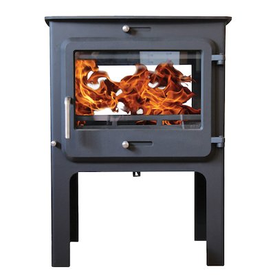 Ekol Clarity 12 Double Sided Logstore Multifuel Stove