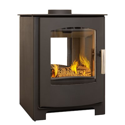 Mendip Churchill 8 Double Sided Multifuel Stove