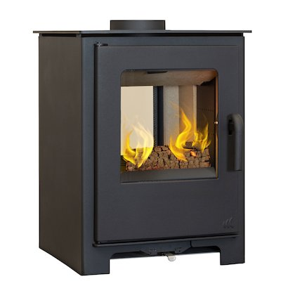 Mendip Loxton 8 Double Sided Multifuel Stove