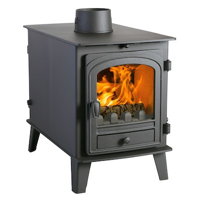 Parkray Consort 4 Double Sided Multifuel Stove - Double Depth