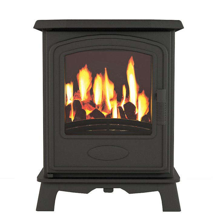 Broseley Hereford 5 Conventional Flue Gas Stove - Black