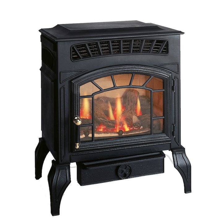 Burley Ambience Flueless Gas Stove - Black