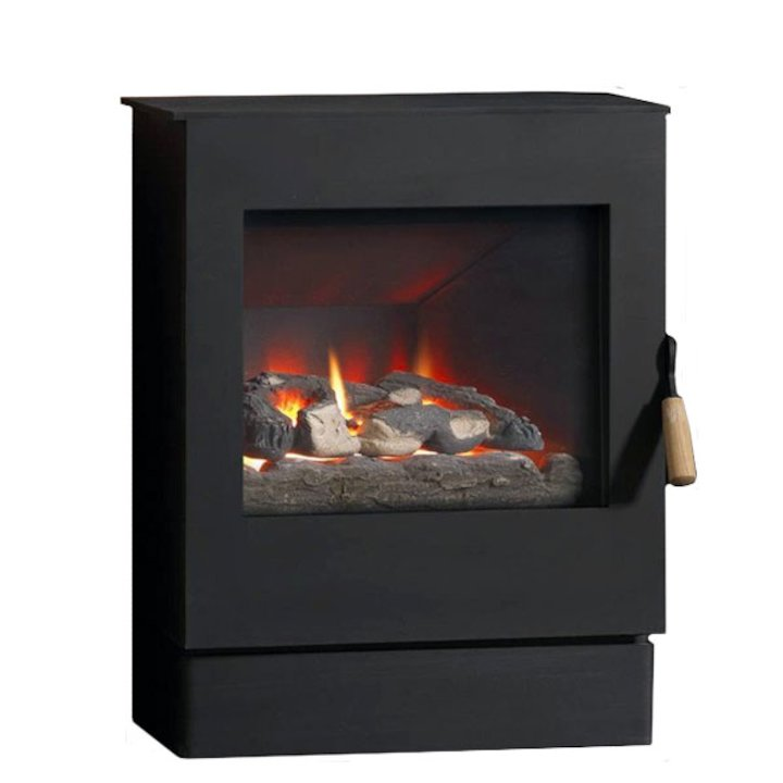 Burley Pickworth Balanced Flue Gas Stove - Black