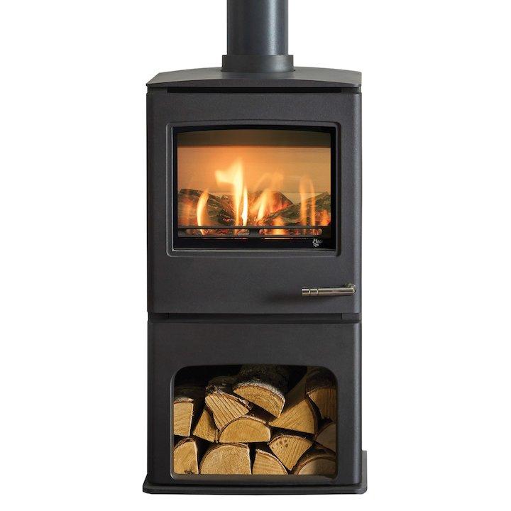 Yeoman CL5 Midline Balanced Flue Gas Stove - Anthracite