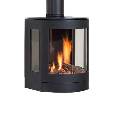 Wanders Balsa Wall Mounted Balanced Flue Gas Stove