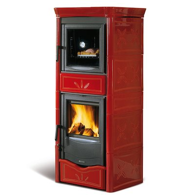 La Nordica Thermo Nicoletta Forno DSA Wood Boiler Stove - With Oven