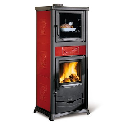 La Nordica Thermo Rosella Plus Forno DSA Wood Boiler Stove - With Oven