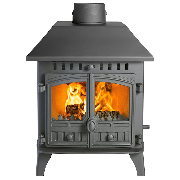 Hunter Herald 6 Double Sided LC Wood Stove