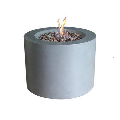 Sarin Concrete LPG Gas Firepit