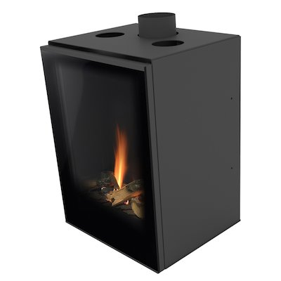 Planika Versal 400 Conventional Flue Gas Fire