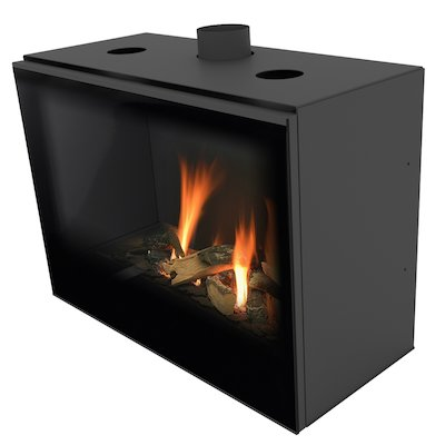 Planika Versal 750 Conventional Flue Gas Fire
