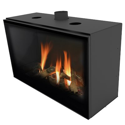 Planika Versal 900 Conventional Flue Gas Fire